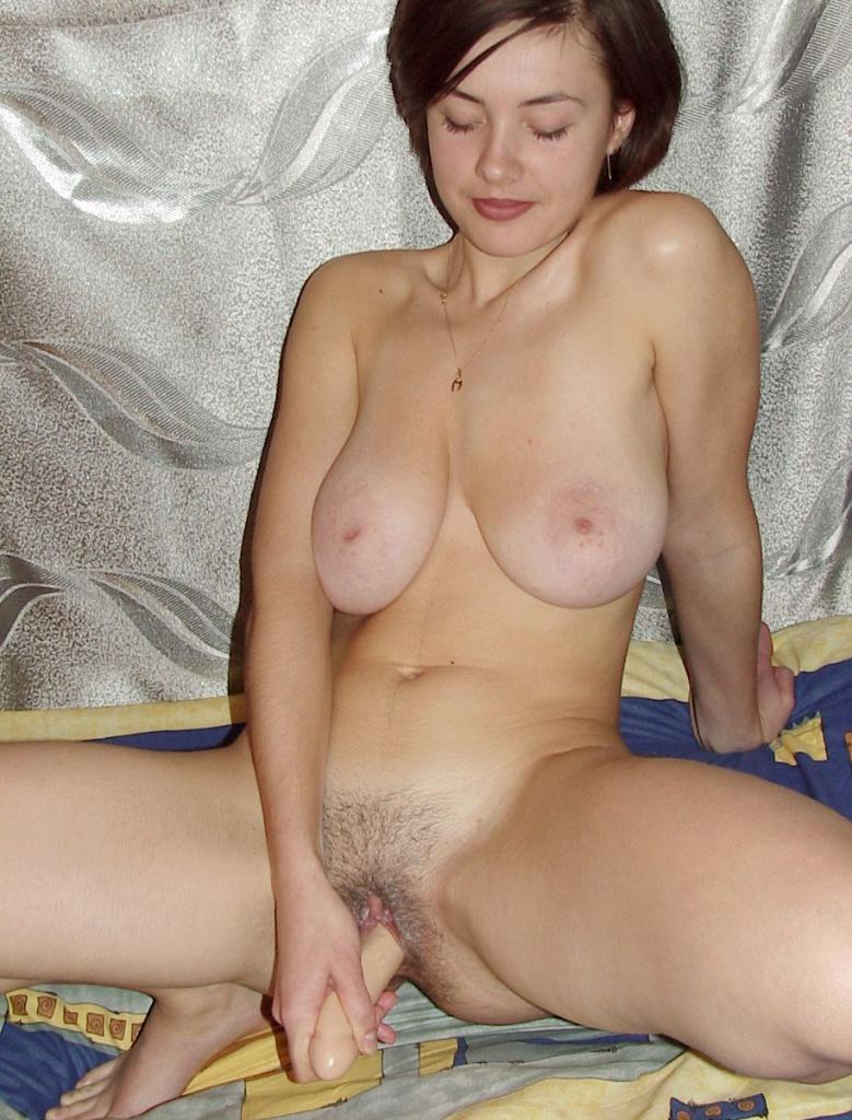 Dildo Rammed Mature Hottie